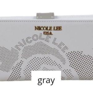 Heget rose laser-cut wallet